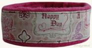Cosy Collar | Happy Day Pink