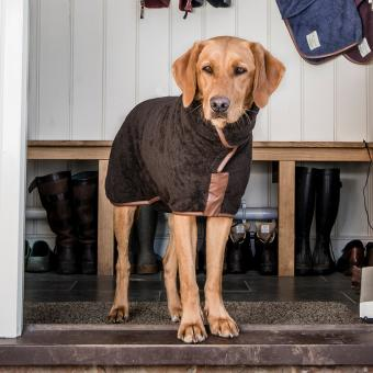 Hundebademantel | Brown