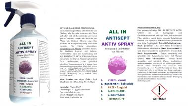 DESINFEKTION | ALL IN  ANTISEPT | 500 ml
