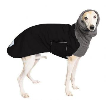Windhundmantel | Winter | Whippet | Winter | Schwarz