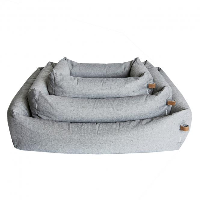 CLOUD7  | Hundebett Sleepy | Tweet Grey