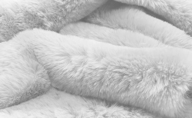 COSYBED  Air | Fake Fur | HERMELIN 22  |  IVOIRE