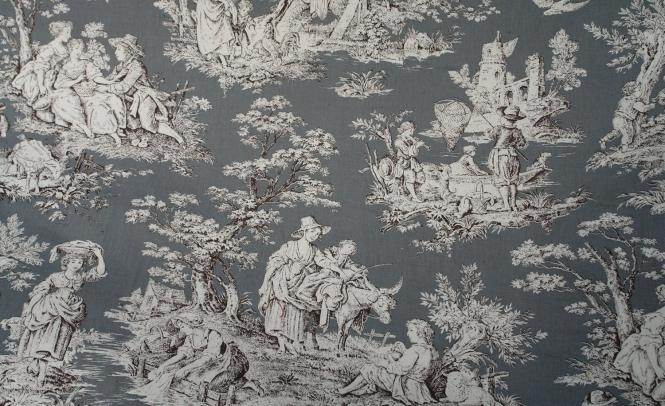 COSYBED  Air |  Toile de Jouye | Grey| White