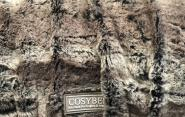 Cover for COSYBED | Fake Fur | ARCTIC | Chipmuk | Brown