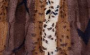 COSYBED  Air | Fake Fur | Leopardmix  Fox/Creme